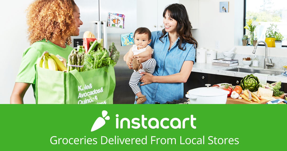 Mastercard® Instacart Express Benefits (Free Delivery, Reduced Fees, & More)