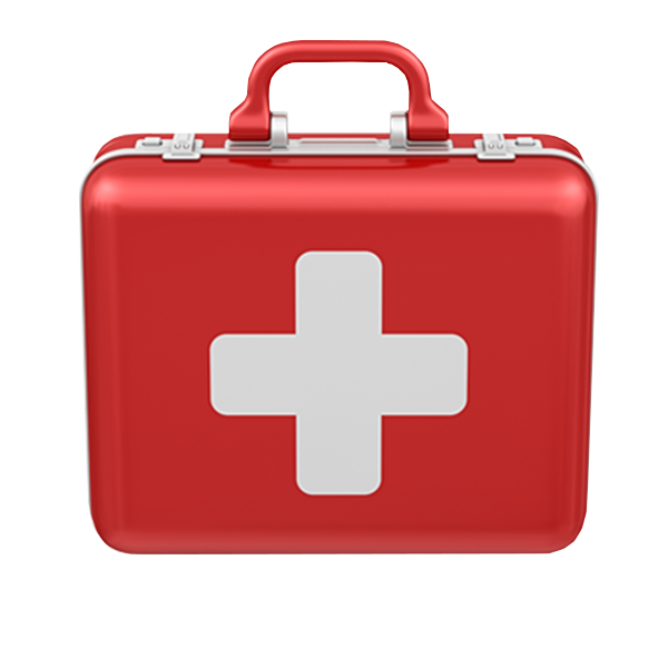First Aid Delivery or Pickup